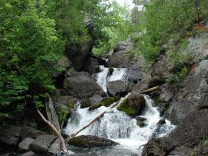 Marinette-County-Waterfall-Tour-Longslide-Falls
