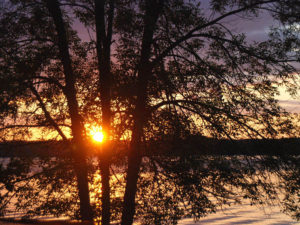 August-Sunset-Caldron-Falls-Flowage